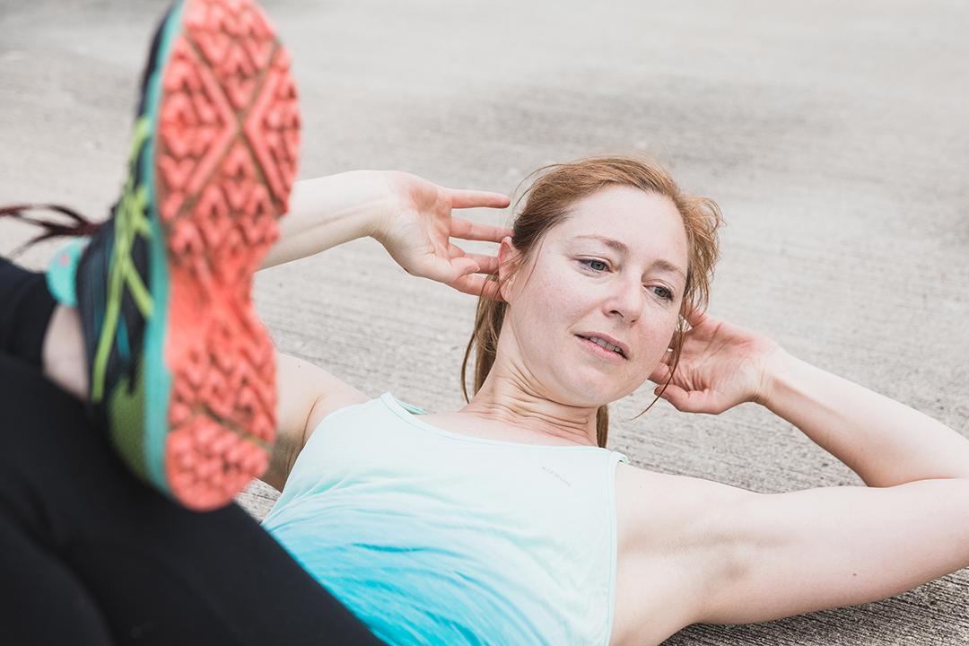 Crunches-Training-Sportfotografie